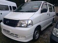 2008 Toyota Hiace 2.5 Diesel minibus 9 seat 2008 White