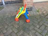 As new perfect condition chicco baby walker musical & activity £15 can deliver if local