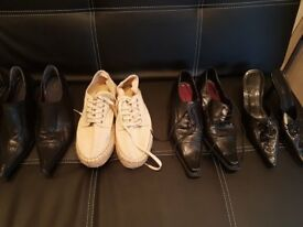 5 pairs of shoes (women)