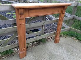 Wooden Mantlepiece