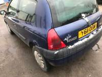 RENAULT CLIO 1.2 VERY GOOD CONDITION DRIVES QUITE AND SMOOTH