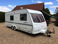 4 Berth Coachman Laser Caravan. Excellent Condition. Motor Mover. Air Conditioning.