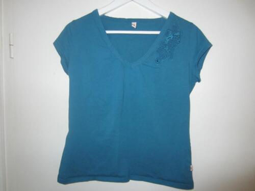 schönes Shirt von S. Oliver Gr. 42 44 mit Stickerei petrol farben in  Gremmendorf 70a13c5c83