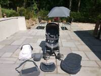 Silver Cross Pram travel system