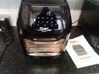 POWER AIR FRYER COOKER 3 IN ONE 1800w 5.7ltr USED SLIGHT USE PERFECT WORKING ORDER