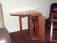 Butterfly Stowaway Extendable Oval Table with 4 chairs