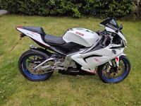 £2300 O.N.O low mileage with only 8131 , very fast, looks like a bigger bike