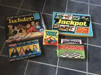 Old fashioned board games