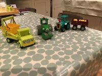 Bob the builder friction toys