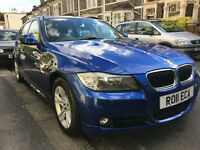 BMW 3 Series 2.0 318d SE Business Edition Touring 5dr 2011 Estate metallic blue, 107k miles