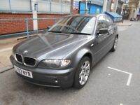 2003 BMW 318 SE AUTO YEAR MOT S/HISTORY LOW MILES A/C ELECTRIC PACK LEATHERS ALLOYS VGC