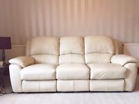 Leather Electric Recliner Sofa - (Sofology)