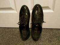 Black Women's Leather Shoes