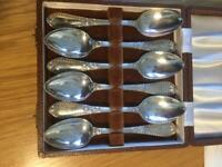 Early Victorian hallmark silver spoons