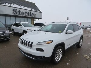 2014 Jeep Cherokee LIMITED 4x4 HEATED LEATHER!  COMMAND START!