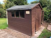 Garden shed and lean to
