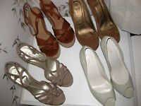 4 pairs shoes size 5