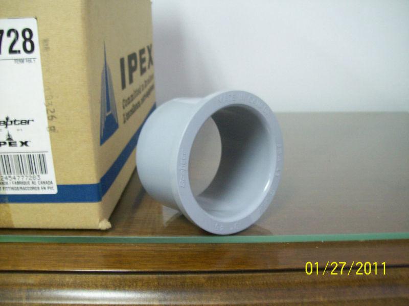 "Scepter Jba45 3"" Junction Box Adapter (box Of 10)"