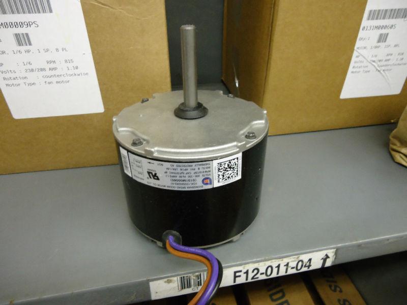 Goodman 0131M00060SP 1/6 HP 208-230V Condenser Fan Motor 0131M00060S - OEM