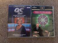 2 x interactive DVD games