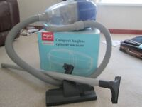 ARGOS COMPACT BAGLESS CYLINDER VACUUM. USED 6 TIMES