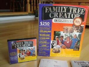 Family Tree Creator Deluxe - New (Version- Win 98) Kitchener / Waterloo Kitchener Area image 6