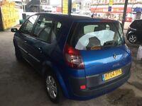 Renault Scenic 1.46 dynamique dci, blue ,manual 12 months mot £999