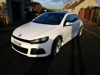 VOLKSWAGEN SCIROCCO 2.0 TDI GT BLUEMOTION, FULL R BODYKIT, TWIN STAINLESS EXHAUSTS, FULL LEATHER