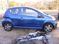 2008 58 TOYOTA AYGO 1.0 VVT-I BLUE (CHEAPER PART EX WELCOME)