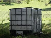 Domestic/ Agricultural water tanks for sale.