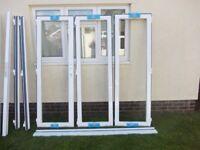 Origin White Aluminium Bi-fold Door~3 Panels 2065h x 2075w~As new never fitted