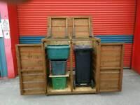 Wheelie bin store/storage/shed/tidy