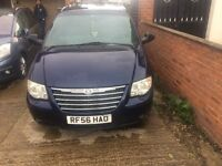 Chrysler grand voyager crd xs for sale