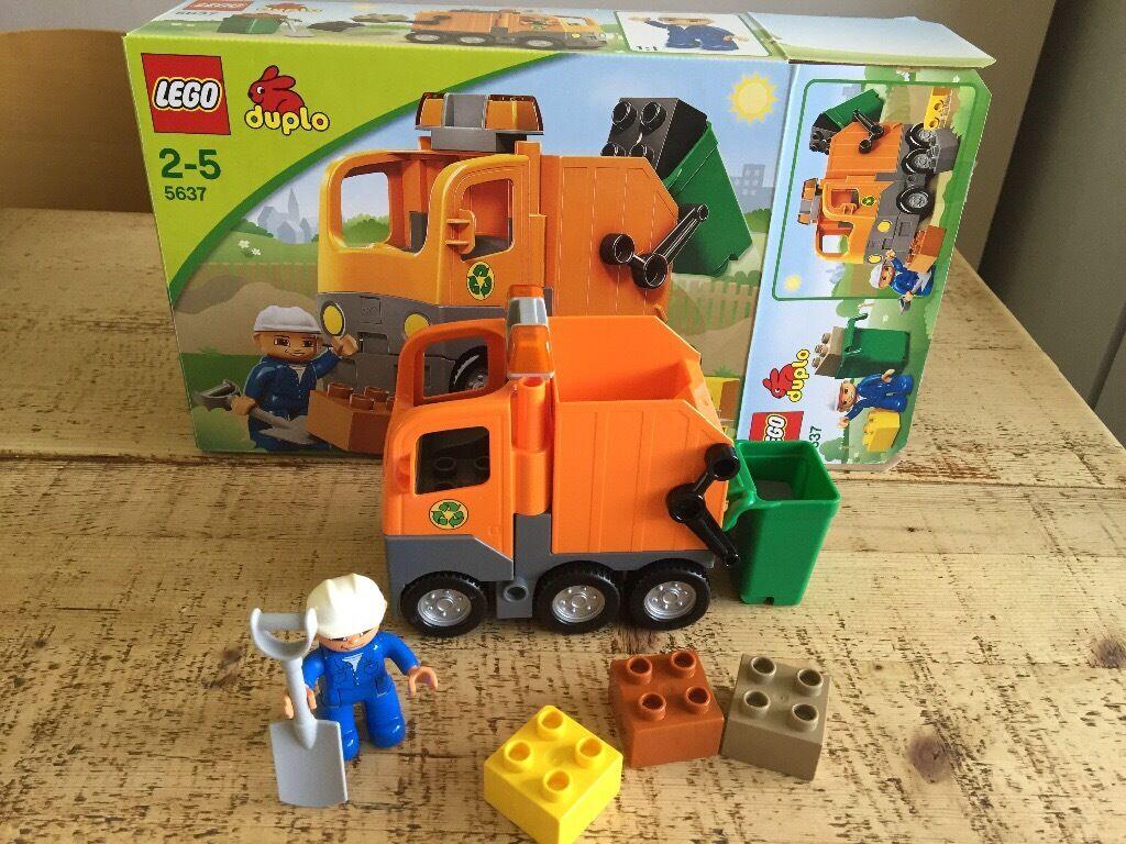Lego Duplo rubbish truckin Norwich, NorfolkGumtree - Lego Duplo rubbish truck 2 5 years Excellent condition In original box all parts included