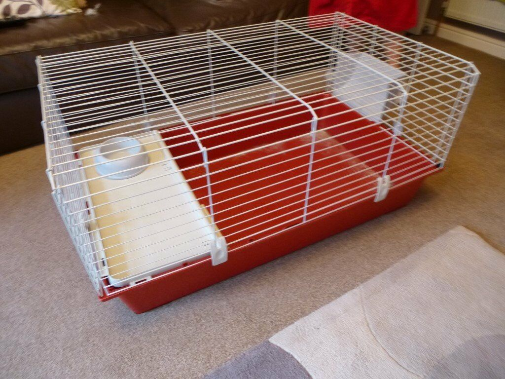 Guinea Pig cage by Ferplast Nice condition (USED)- Comes as in pics