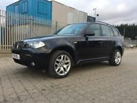 2009│BMW X3 2.0 20d M Sport 5dr│2 Former Keepers│Full Service History│2 Keys│Hpi Clear│AUX Input