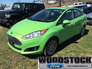 2015 Ford Fiesta Titanium, LEATHER, ROOF,  NAVIGATION