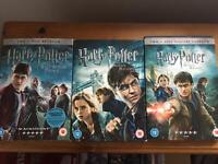 Last 3 Harry Potter films