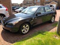 BMW 520d SE diesel manual. Black with beige leather