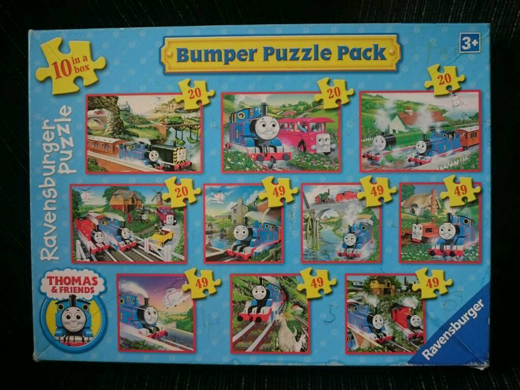 Thomas and Friends bumper puzzle and minis