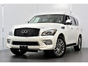 2015 Infiniti QX80 LIMITED 7 Passagers