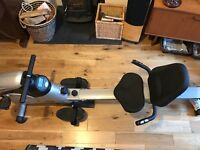2 in 1 Exercise Bike and Rowing Machine