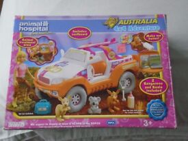Animal Hospital - 4 x 4 Adventure - boxed and never used