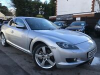Mazda RX-8 1.3 231Ps Full Service History Recently Serviced Leather Heated Seats Xenon HeadLights