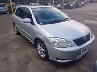 toyota corolla DIESEL 10 stamps full s history, (ANY OLD CAR PX WELCOME, 2 OWNERS, MOTORWAY MILES