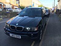 BLACK BMW X5 SPORT 12 MONTHS MOT!