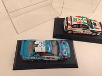 2 vintage scalextrix rally cars - £30