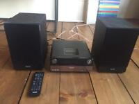 Philips DCB152/05 Micro Hifi System with Dock for iPod/iPhone and DAB Radio