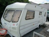 Lunar CARAVAN 4/5 BERTH Jupiter 20ft £1750 Clean Dry Ready to use Anglesey 07870 516938