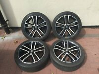 """Vauxhall Limited Edition Alloys CORSA ASTRA ZAFIRA 5STUD 17"""" WITH TYRES"""